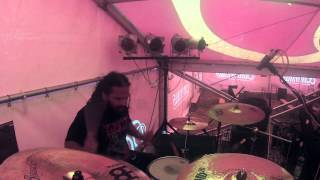 Gutslit - Aaron Pinto - Necktie Party - Obscene Extreme After Party 2014(Czech Republic)