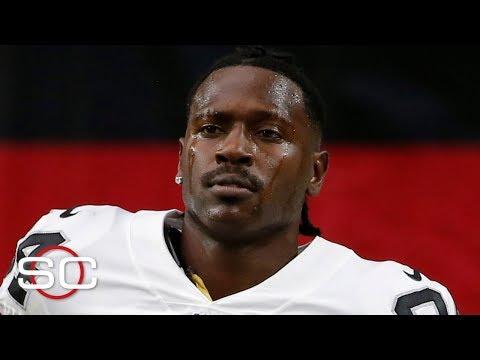 The Raiders release Antonio Brown   SportsCenter