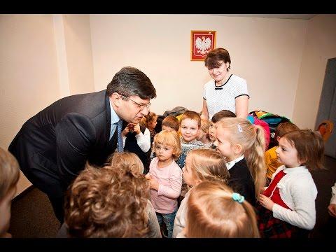 Przedszkolaki u prezydenta