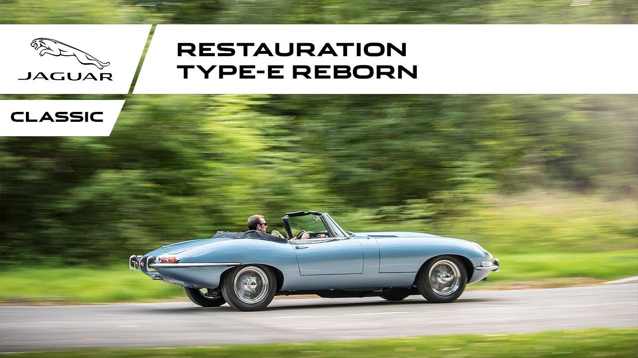 jaguar classic jaguar type e reborn youtube. Black Bedroom Furniture Sets. Home Design Ideas