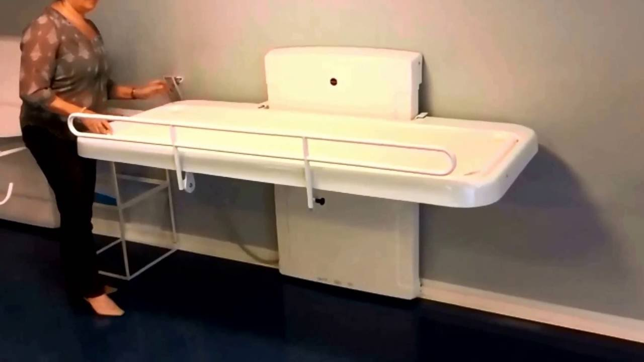 PC Hi Lo Adult Changing Table YouTube - Adult changing table