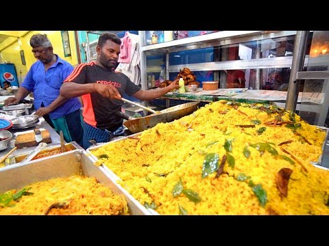 Sri Lanka Street Food - COLOMBO'S BEST STREET FOOD GUIDE! CRAZY Fish Market + Spicy Curry!