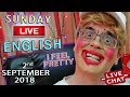 LIVE English - Watch Listen Learn - 2nd SEPT 2018 - Hotels / Chat / adjoining / Steve + Duncan