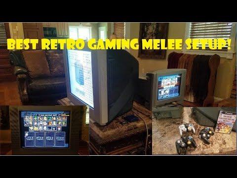 Best Retro Gaming Melee Setup Sony Trinitron CRT