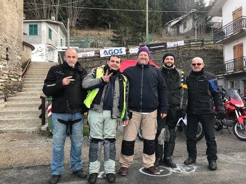 Motoraduno invernale Barbagelata 2018 100 % beneficenza