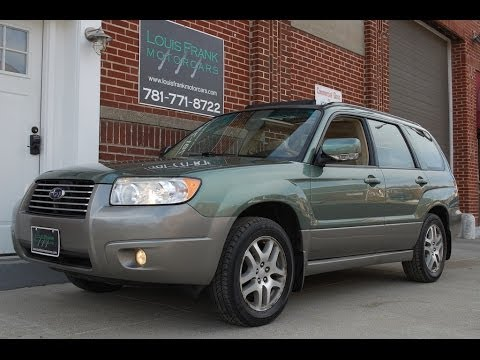 2006 subaru forester ll bean edition walk around presentation at louis frank motorcars llc. Black Bedroom Furniture Sets. Home Design Ideas