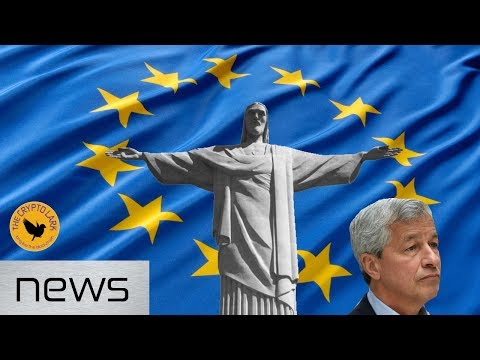 Bitcoin & Cryptocurrency News - JP Morgan Gets Sued, EU Blockchain Declaration, & Brazil