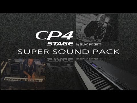 CP4 Yamaha Demo Super-Sound-Pack by Bruno Zucchetti