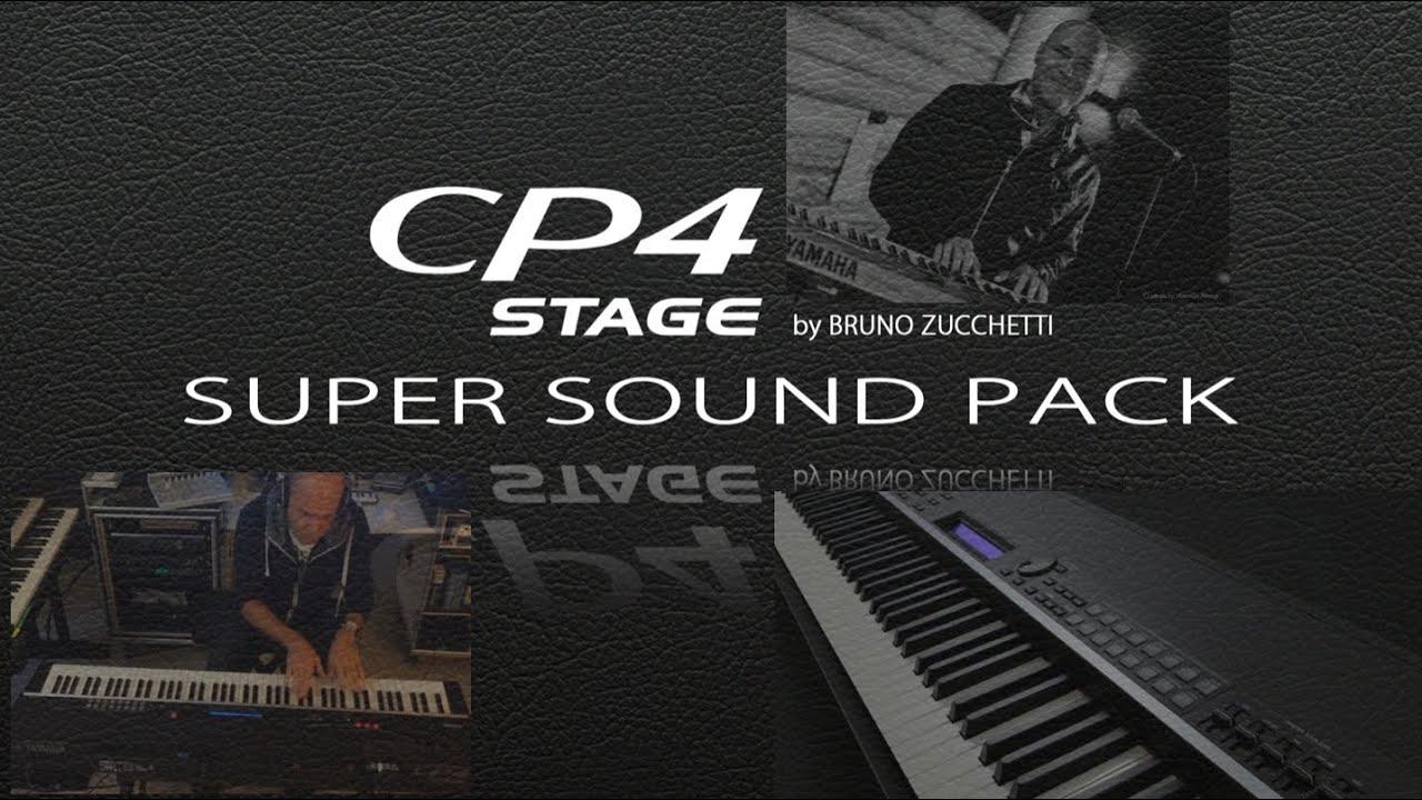 CP4 Yamaha Demo Super-Sound-Pack by Bruno Zucchetti