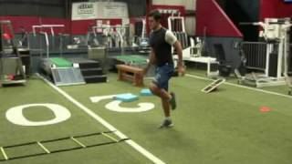Davis Harris- Speed ladder Drills Monroe Louisiana River Oaks School