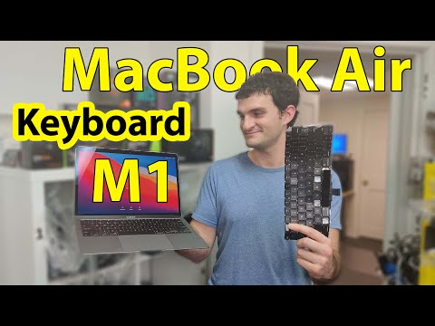 MacBook Air M1 A2337 Keyboard Replacement