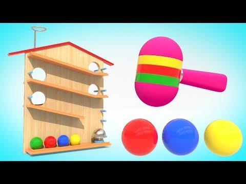 Мультфильм про домик с шариками