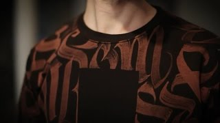 BLEACH CLOTHING CALLIGRAPHY BY LES HOMMES DE LETTRES