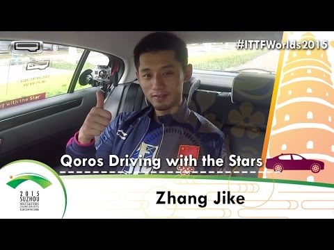 Qoros Driving with the Stars - Zhang Jike