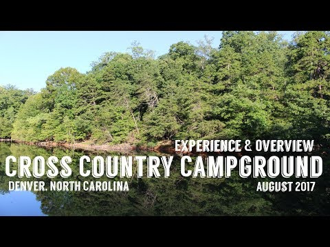Cross Country Campground | Denver, NC August 15-18, 2017 | Experience & Review