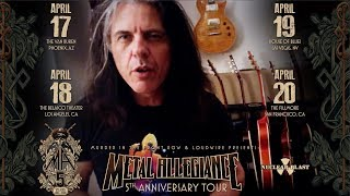 METAL ALLEGIANCE - 5th Anniversary Tour Alex Skolnick Invite (OFFICIAL TRAILER)