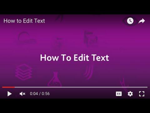 Logo Maker Tutorial: Editing Text