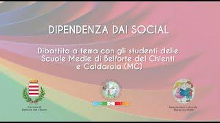 Dipendenza dai Social - Con Eleonora Giovannini ed Elio Carfagna
