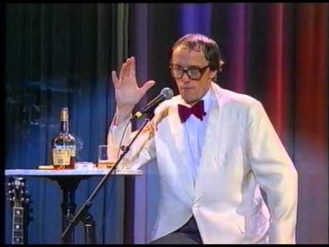 Hans Werner Olm 1990 beim Satirefest 1/2