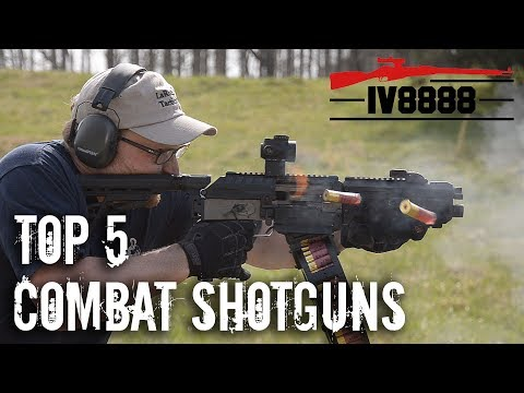 Top 5 Combat Shotguns