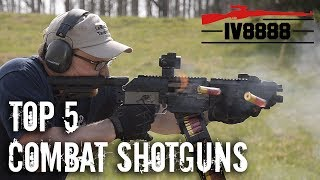 Top 5 Combat Shotguns