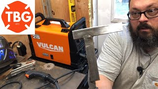 First Time Welding With The Vulcan MigMax 215 Welder...