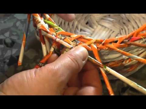 How to make the edging Grethen. Part 8.