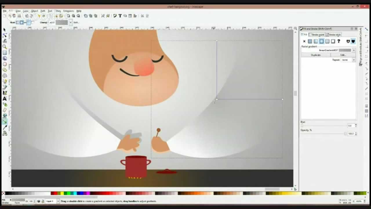 Inkscape Character Design Tutorial : Character design with inkscape youtube