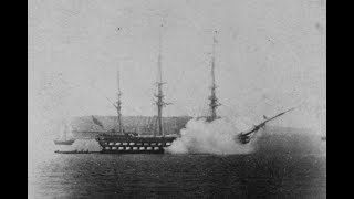 The Earliest Photos of Cannons Firing (1860's)