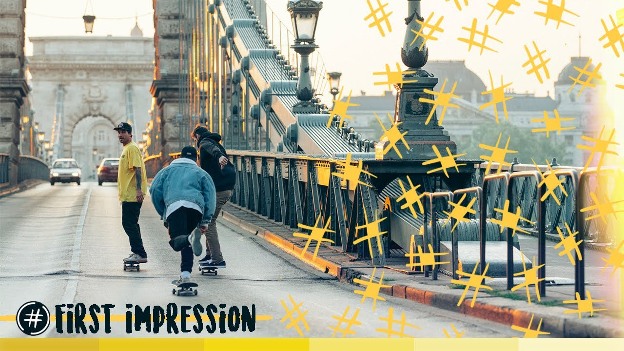 "Attitude Skateboards  | ""First Impression"""