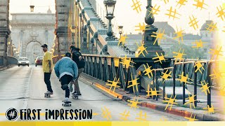 "Attitude Skateboards  | ""First Impression"""