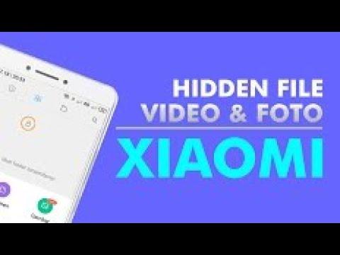 Cara Menyembunyikan Foto Video Dan File Di Hp Xiaomi 2021 Youtube