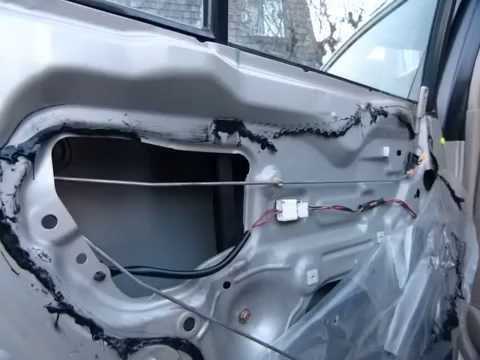 Rear Door Panel Removal 2002 Mazda 323 Protege Familia Doovi