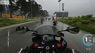 rIDE 3 - Dynamic Rainy Weather Gameplay  Let's Test Suzuki GSX