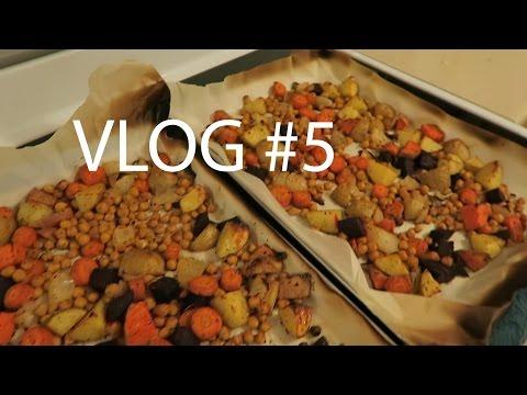 Vegan Roasted Veggies + Meet My Parents, VLOG #5