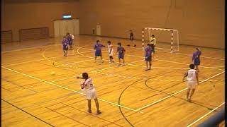 ハンドボール富雄高校VS奈良大学附属高校