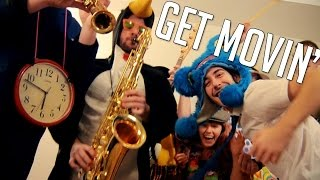 """Cut Capers - """"Get Movin' (Feet Don't Fail Me Now)"""" - Official Video"""