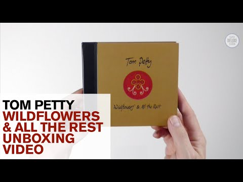 Tom Petty's 'Wildflowers & All The Rest' CD and vinyl deluxe editions unboxed