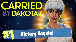 CARRIED BY DAKOTAZ!! - FORTNITE BATTLE ROYALE!! #10 thumbnail