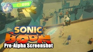 Sonic Boom Analysis - Released Pre-Alpha HUD and Fighting Screenshot
