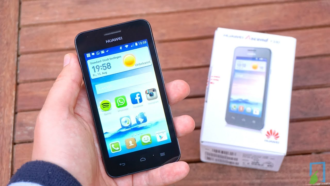 Huawei Ascend Y330: specifications, photos