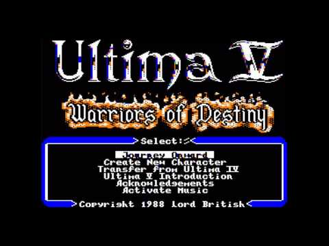 Ultima V: Warriors of Destiny - Stones (by Iolo and Gwenno)