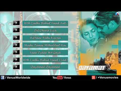 Qayama Qayamat Songs - Hindi Full Songs | Ajay Devgan Suniel Shetty Neha Dhupia |JUKEBOX| Love Songs