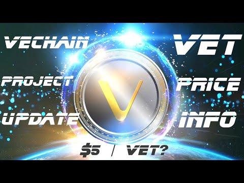VeChain Project Updates, Partnerships Info & VET Price Analysis: $5/VET?