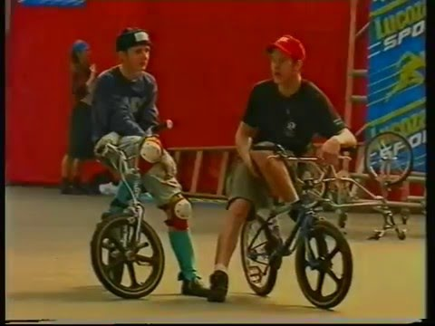 The Rider Cup Contest // 1992 // Dave Mirra,Mat Hoffman,Dennis McCoy & More.