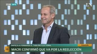 Claudio Jacquelin: Macri confirmó que va por su reelección | +INFO