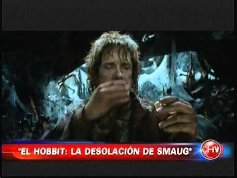 EL HOBBIT 2 LA DESOLACION DE SMAUG ESTRENO EN CHILE CHVNOTICIAS 26 10 2013