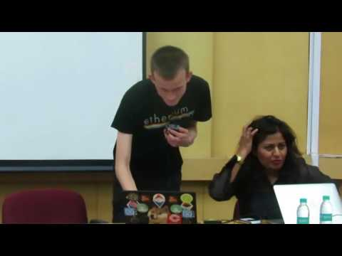 Vitalik Buterin's Talk at IITBombay - Blockchain India Week May 2017