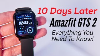 Amazfit GTS 2: 10 DAYS FULL REVIEW! Calls, Notifications, Speaker, GPS, Fitness, Battery ALL TESTED!