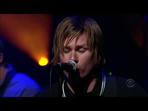 Angels and Airwaves - The Adventure (live at David Letterman Show) HD